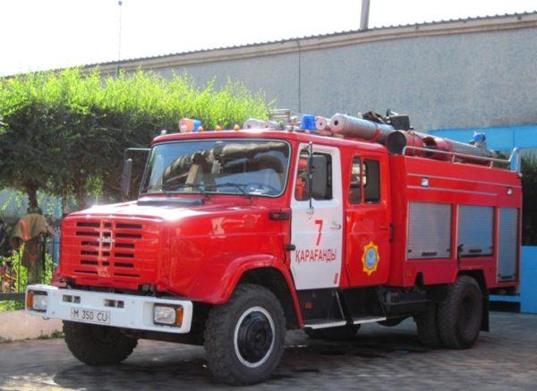 Пожарная машина на базе «ЗИЛ-4331