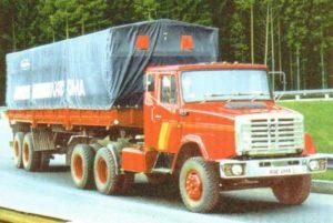 Седельный тягач на базе «ЗИЛ-4331»