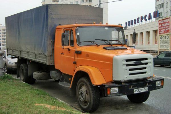 Тентованный «ЗИЛ-4331» с удлинённой кабиной