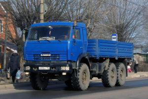 Модификации КамАЗ-43114 и их габаритные размеры