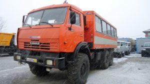 Модификации КамАЗ-43114 и их габаритные размеры01
