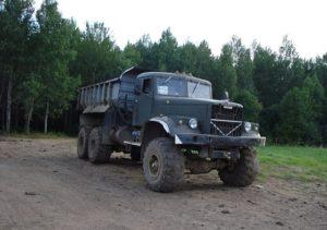 Краз-255 самосвал