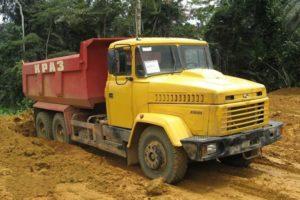 КрАЗ-65055: технические характеристики