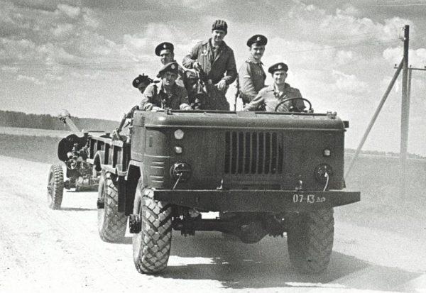 «ГАЗ-66» на службе в ВДВ СССР