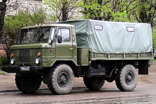 ГАЗ-66: технические характеристики