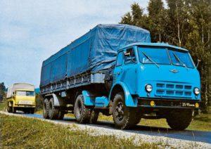 МАЗ-500 Технические характеристики