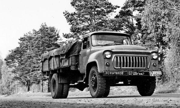 О сферах применения и модификациях «ГАЗ-53»01