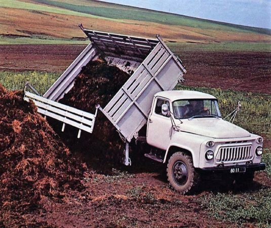 О сферах применения и модификациях «ГАЗ-53»