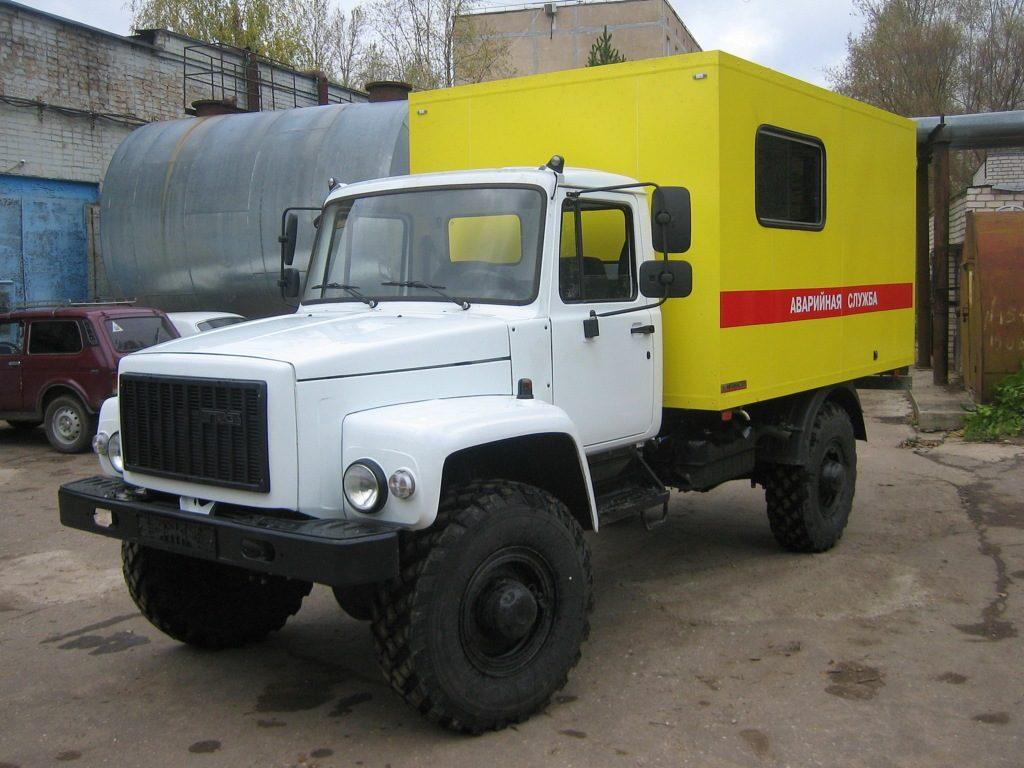 Область применения и варианты исполнения «ГАЗ-33081»-01