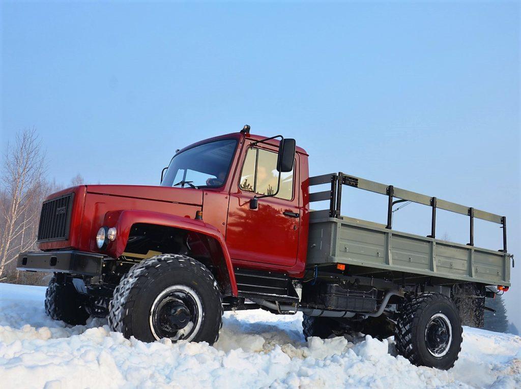 Область применения и варианты исполнения «ГАЗ-33081»