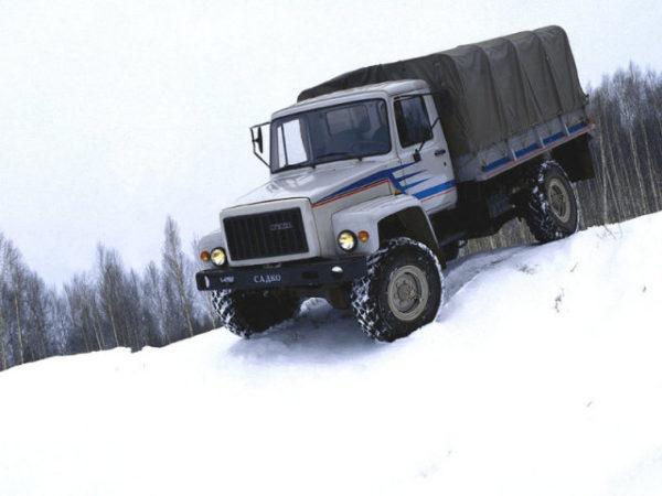 Общие габаритные и весовые данные «ГАЗ-33081»