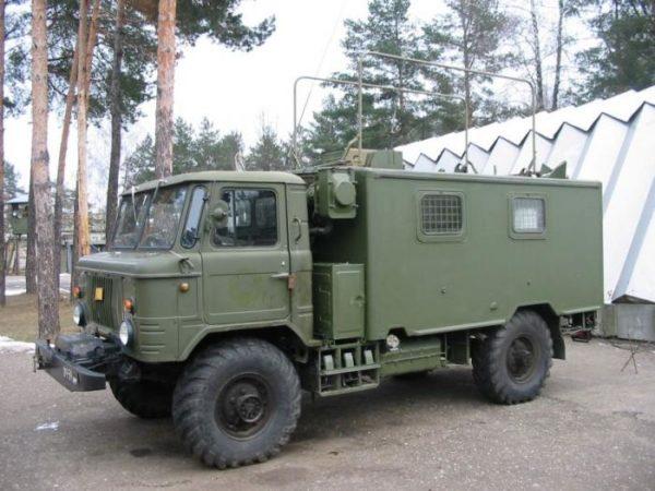 Обзор распространённых спецмашин на базе «ГАЗ-66»01