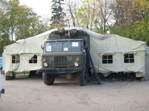Обзор распространённых спецмашин на базе «ГАЗ-66»