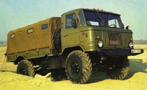 Особенности конструкции «ГАЗ-66»; коротко о его отличиях от «ГАЗ-63»01