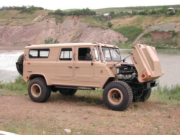 Рама и шасси «ГАЗ-66» как основа для создания вездеходов01