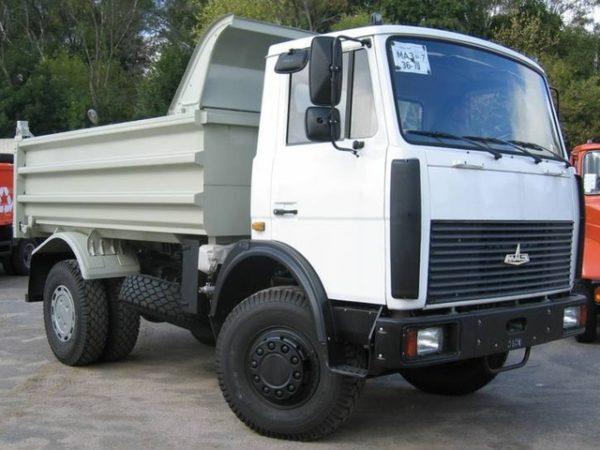 Цена автомашины «МАЗ-5551»