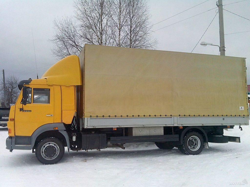 Цена «КамАЗ-4308», нового и б/у