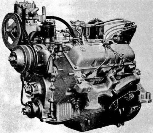 Двигатель автомобиля «Урал-375»