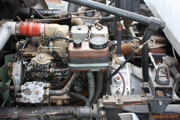Двигатель «КамАЗ-4308»-01