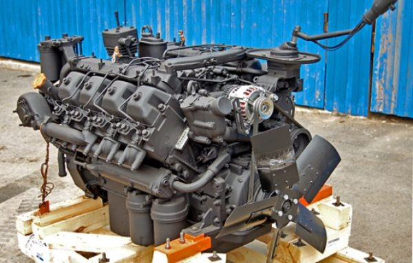 Двигатель «КамАЗ-53212»01