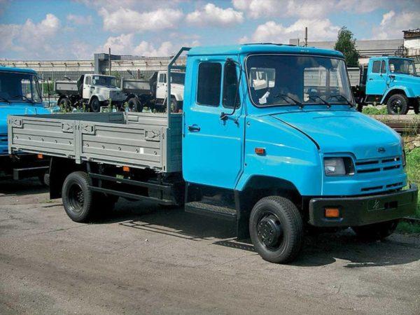 История модели «ЗИЛ-5301 «Бычок»