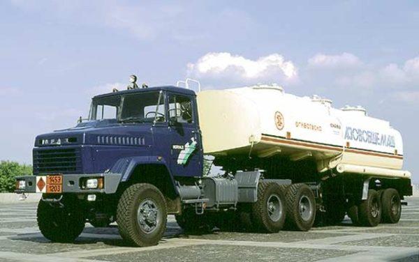 КрАЗ-6443: Технические характеристики