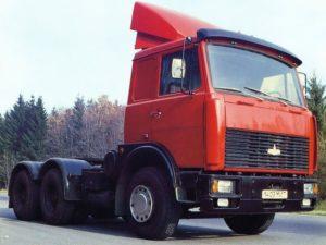 МАЗ-64229: Технические характеристики