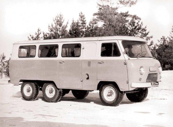 Модификации «УАЗ-452»-02