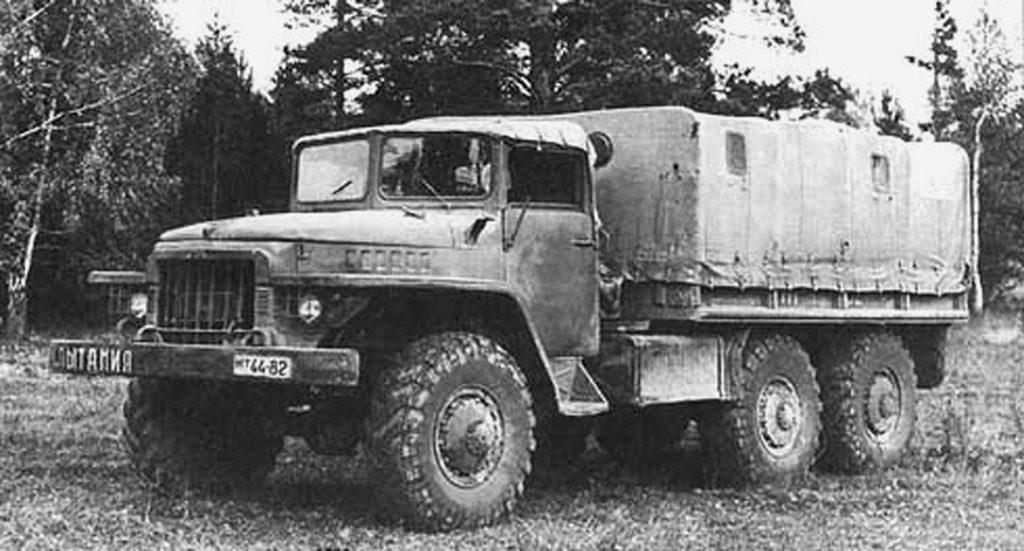 Об истории модели «Урал-375»