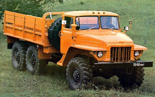 Урал-375: технические характеристики