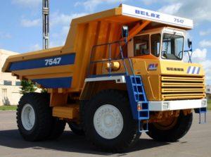 «БелАЗ-7547» сегодня. Варианты комплектации