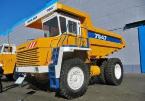 БелАЗ-7547: Технические характеристики