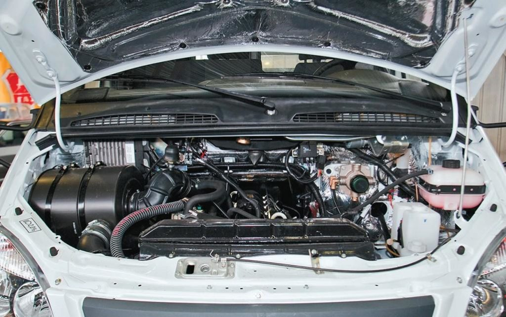 Двигатель грузовика «ГАЗ-33106 «Валдай»