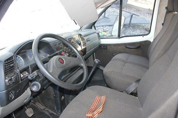 Кабина автомобиля «ГАЗ-33106 «Валдай»