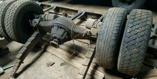 Рама, ходовая часть, подвеска, рулевое и тормозное управление