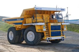 БелАЗ-75131: Технические характеристики