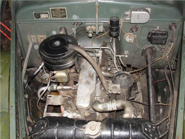 Двигатель «ГАЗ-63»