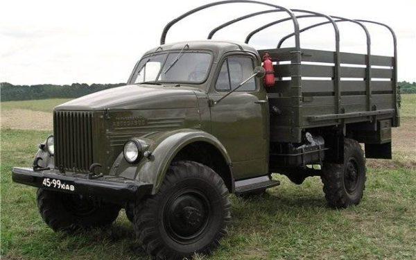 ГАЗ-63: технические характеристики