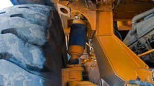 Ходовая часть, подвеска грузовика «БелАЗ-75131»