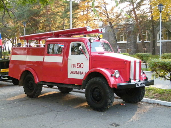 Спецмашины на базе «ГАЗ-63»-02