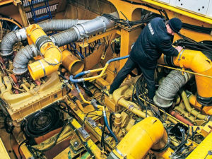 Двигатели и электромеханическая трансмиссия