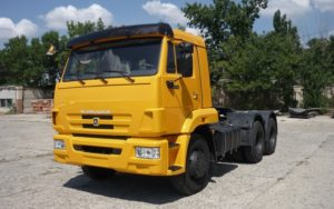 КамАЗ 65116: технические характеристики