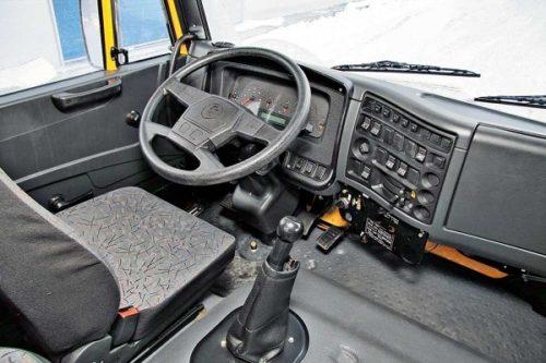 Водительское место в КамАЗ-65116