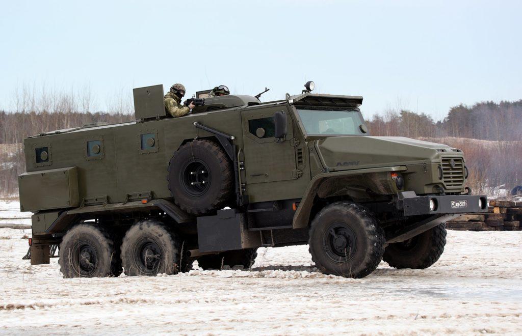 Бронемашины на шасси «Урал-4320»