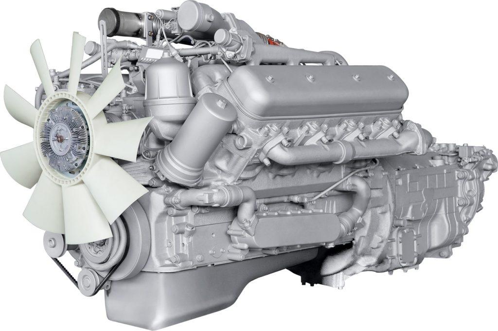 Двигатели «МАЗ-5516»-01