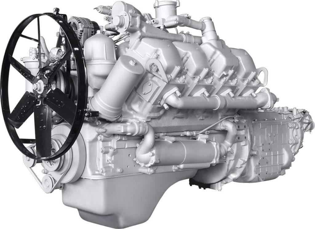 Двигатели «МАЗ-5516»