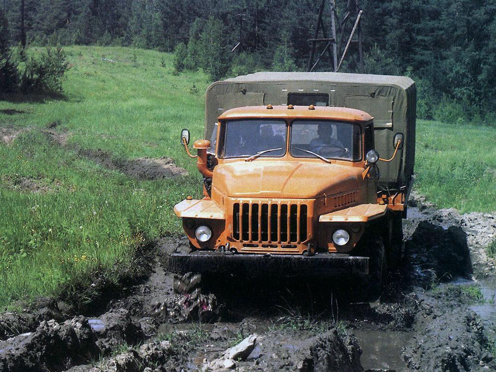 История семейства «Урал-4320»