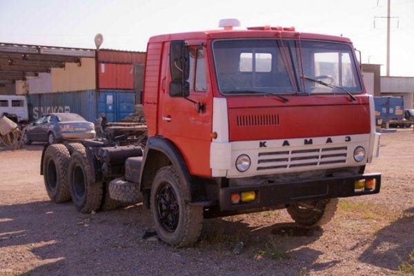 История создания модели КамАЗ-5410