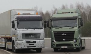 МАЗ-5440 последнего поколения