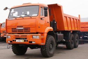 КамАЗ-65222: технические характеристики